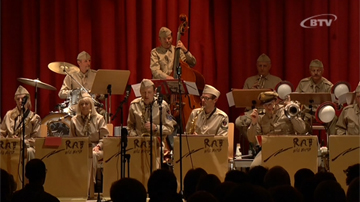 Konzert RAT Big Band mit Hugo Strasser in Scharnstein