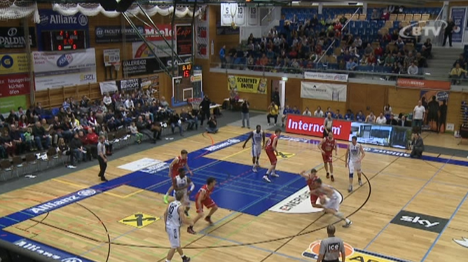 Basketball: Allianz Swans Gmunden - Traiskirchen Lions